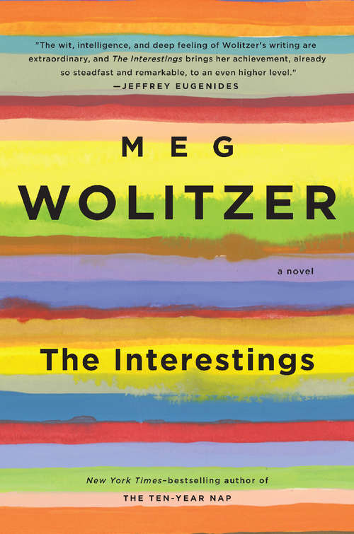 Collection sample book cover The Interestings by Meg Wolitzer