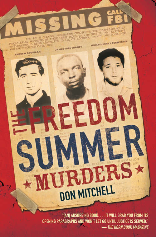 Collection sample book cover The Freedom Summer Murders