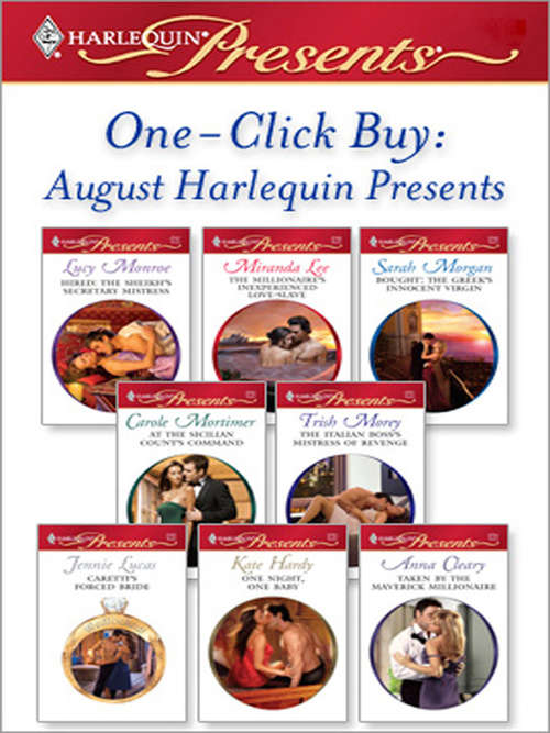 One-Click Buy: August Harlequin Presents