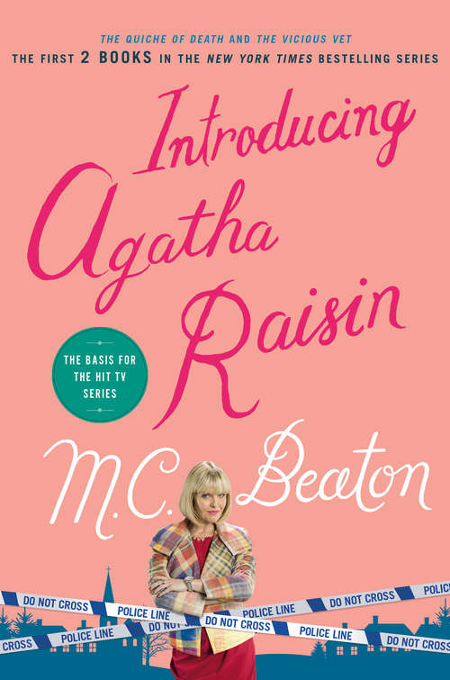 Collection sample book cover The Quiche Of Death and The Vicious Vet (Agatha Raisin Mysteries)