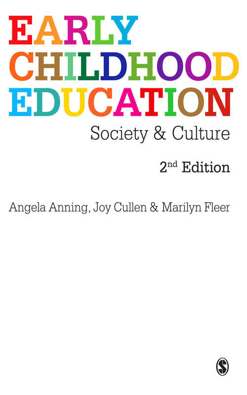 Early Childhood Education: Society and Culture (Aspe Papers On Managing Primary Education Ser. #7)