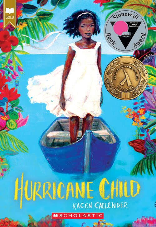 Collection sample book cover Hurricane Child by Kheryn Callender