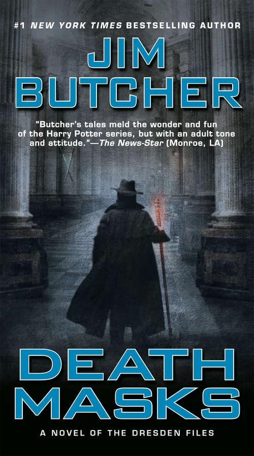 Death Masks: Book five of The Dresden Files (Dresden Files #5)