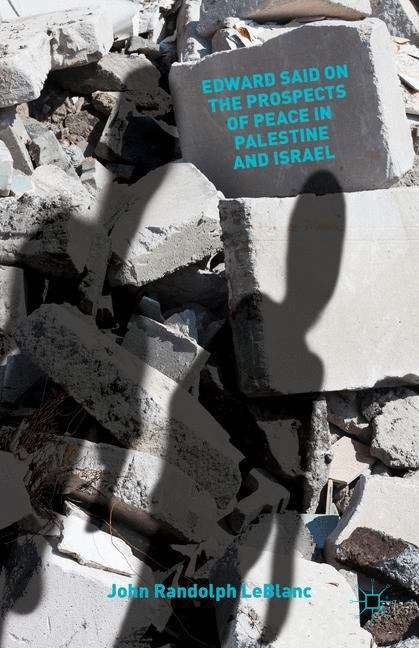 Edward Said On The Prospects Of Peace In Palestine And Israel