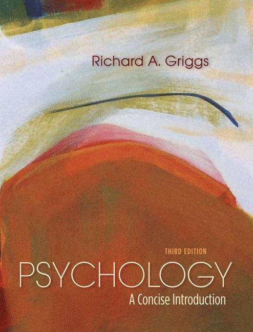 Psychology: A Concise Introduction (Third Edition)