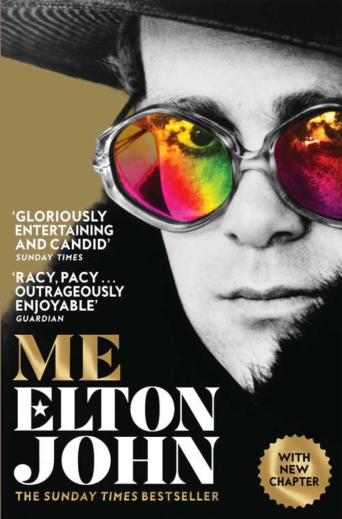 Collection sample book cover Me by Elton John
