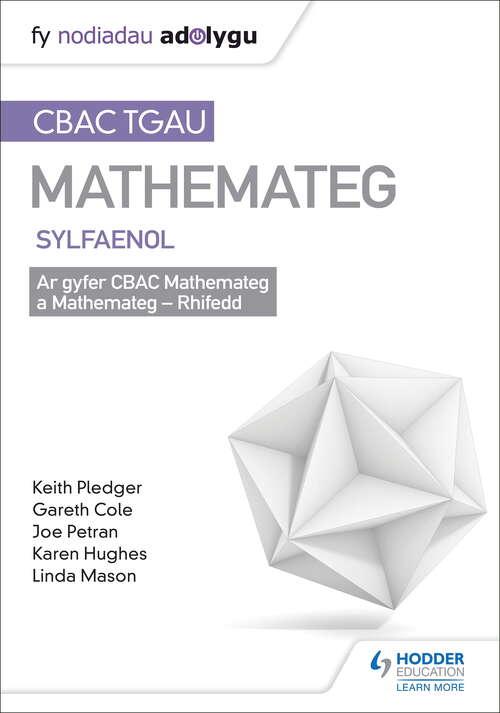 TGAU CBAC Canllaw Adolygu Mathemateg Sylfaenol (Welsh-language edition)