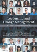 Leadership and Change Management: A Cross-Cultural Perspective
