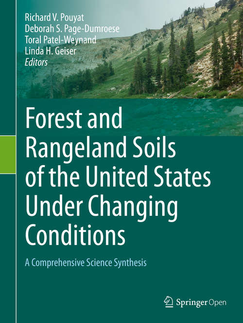 Forest and Rangeland Soils of the United States Under Changing Conditions: A Comprehensive Science Synthesis