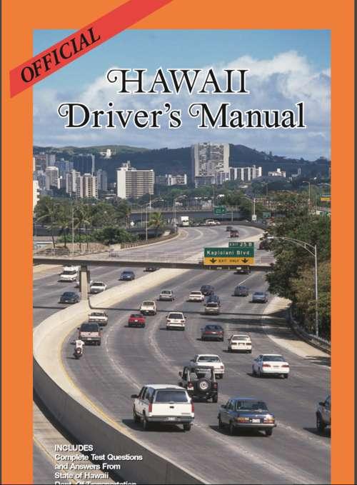 Official hawaii driver's manual.