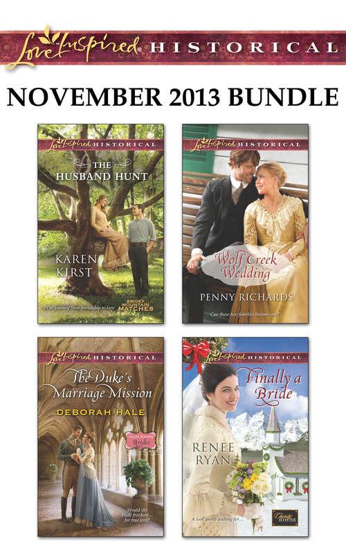 Love Inspired Historical November 2013 Bundle