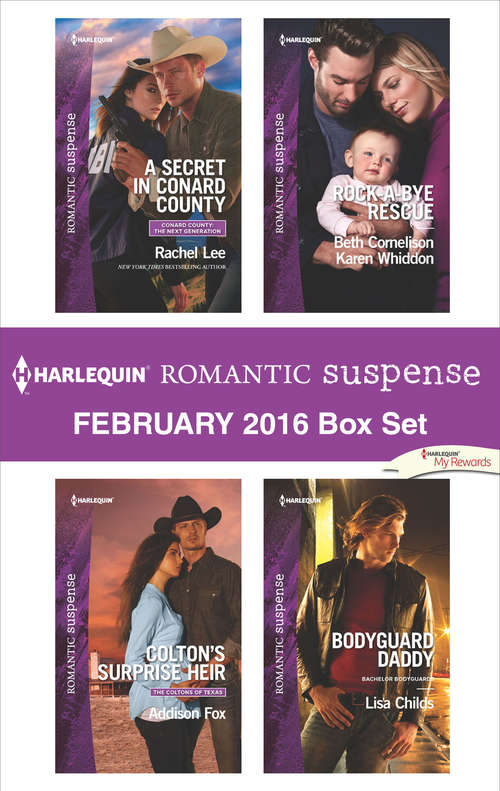 Harlequin Romantic Suspense February 2016  Box Set