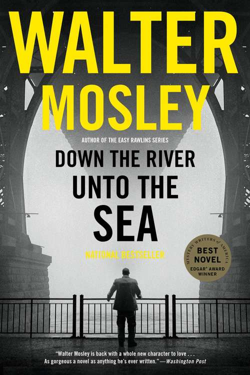 Collection sample book cover Down the River unto the Sea by Walter Mosley