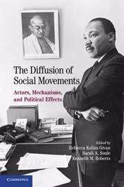 The Diffusion of Social Movements: Actors, Mechanisms, and Political Effects