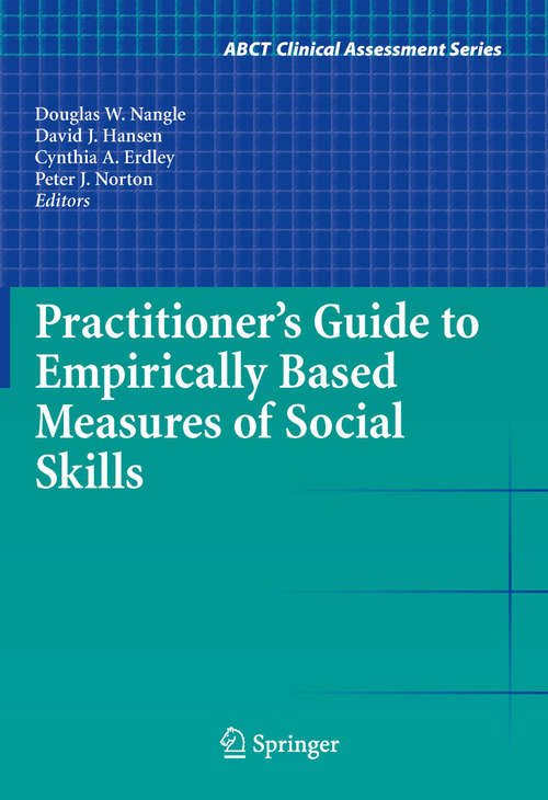 Practitioner's Guide to Empirically Based Measures of Social Skills
