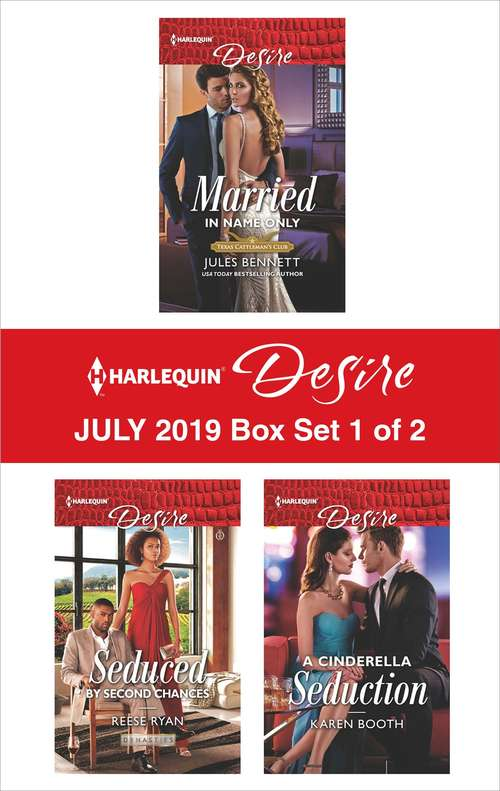 Harlequin Desire July 2019 - Box Set 1 of 2