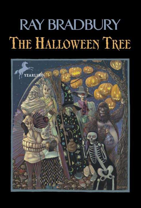 Collection sample book cover The Halloween Tree by Ray Bradbury