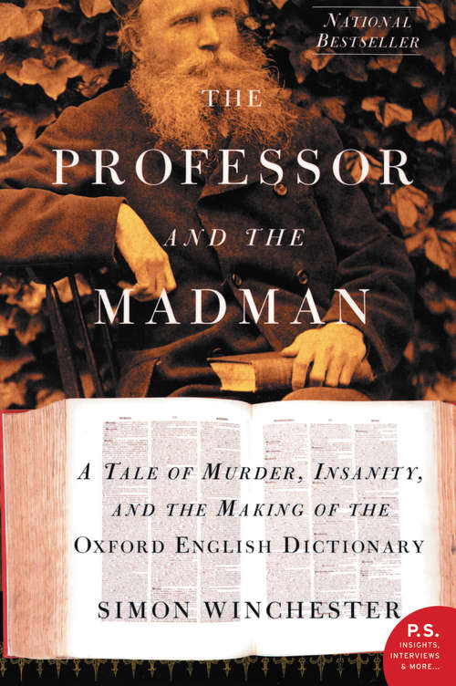 an examination of the professor and the madman by simon winchester Film production has stopped for the adaptation of simon winchester's bestselling book, the professor and the madman, after financial and artistic disputes led to a lawsuit filed by mel gibson's icon productions on monday.