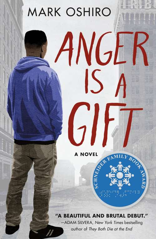 Collection sample book cover Anger Is a Gift: A Novel by Mark Oshiro
