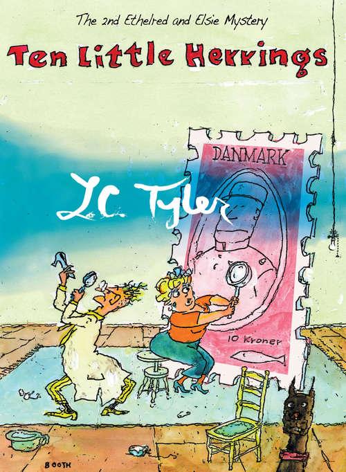 Ten Little Herrings (The Ethelred and Elsie Mysteries #2)