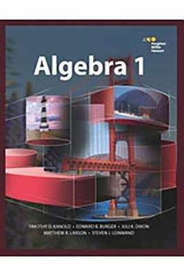 Houghton Mifflin Harcourt Algebra 1