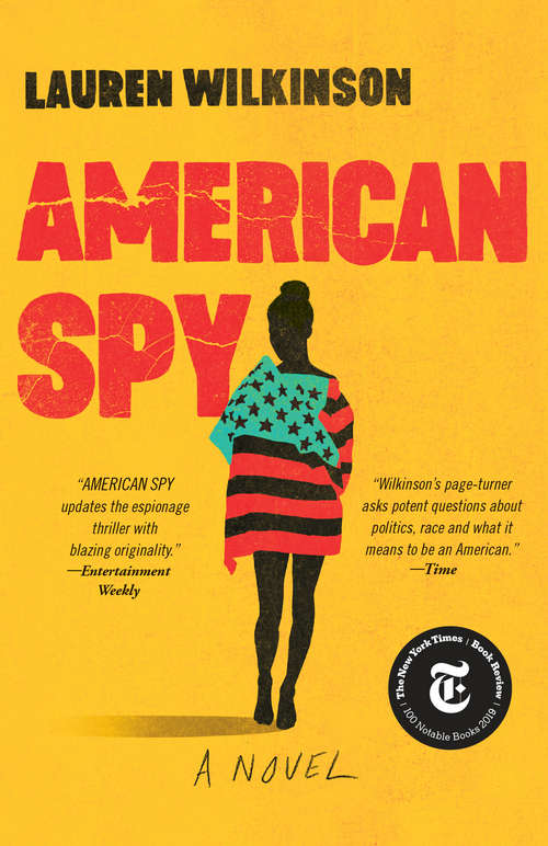 Collection sample book cover American Spy by Lauren Wilkinson