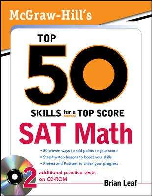 Top 50 Skills for a Top Score: SAT Math