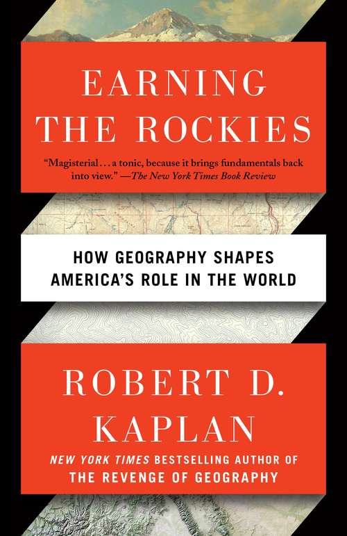 Collection sample book cover Earning the Rockies by Robert Kaplan