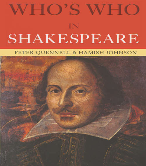 Who's Who in Shakespeare (Who's Who)