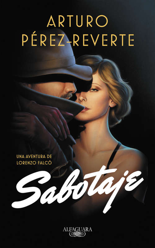Collection sample book cover Sabotaje (Serie Falcó: 3) by Arturo Pérez-Reverte