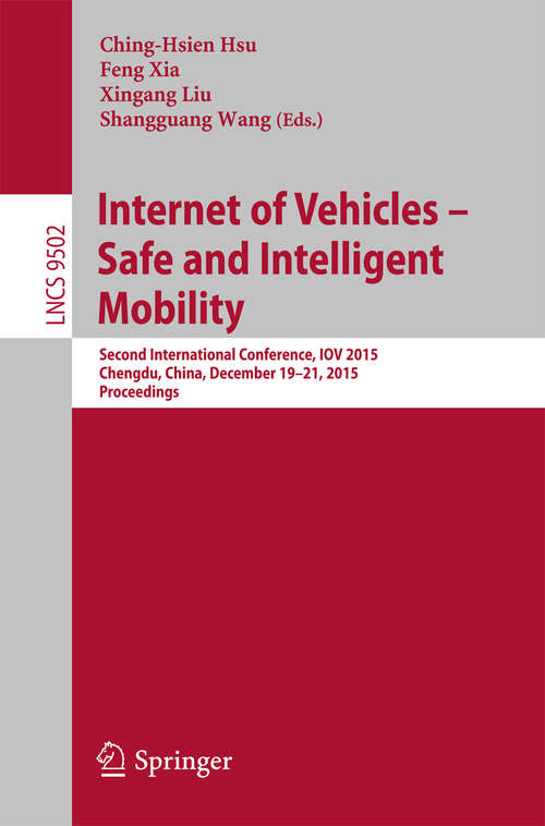 Internet of Vehicles - Safe and Intelligent Mobility