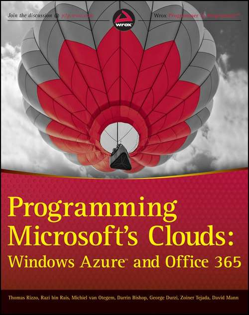 Programming Microsoft's Clouds