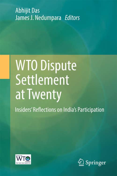 WTO Dispute Settlement at Twenty