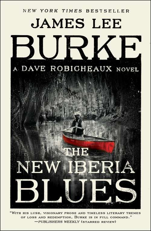 Collection sample book cover The New Iberia Blues by James Lee Burker