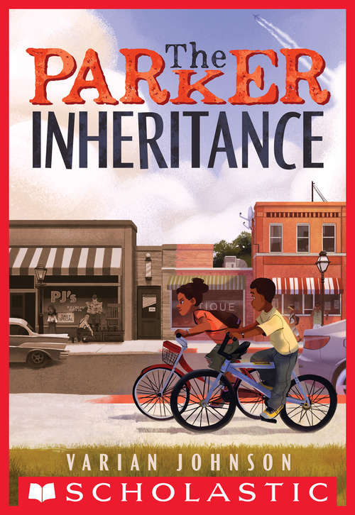 Collection sample book cover The Parker Inheritance by Varian Johnson