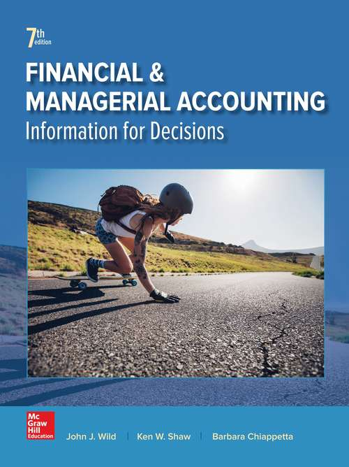 Financial And Managerial Accounting (Seventh Edition)