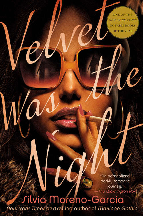 Collection sample book cover Velvet was the Night by Silvia Moreno-Garcia
