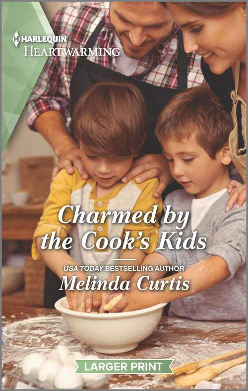 Charmed by the Cook's Kids: A Clean Romance (The Mountain Monroes #6)
