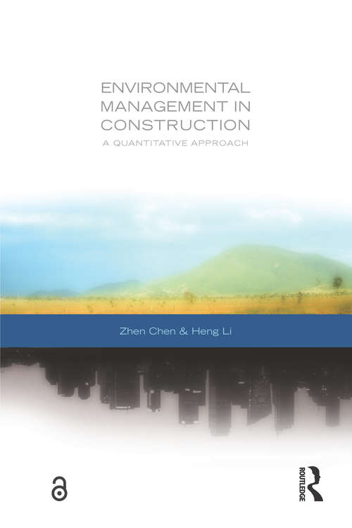 Environmental Management in Construction: A Quantitative Approach