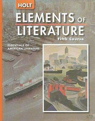 Holt Elements Of Literature Fifth Course Bookshare