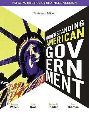 Understanding American Government - No Separate Policy Chapters