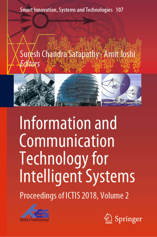 Information and Communication Technology for Intelligent Systems (Smart Innovation, Systems and Technologies #84)