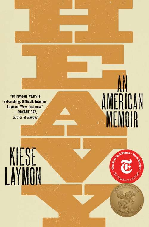 Collection sample book cover Heavy: An American Memoir by Kiese Laymon