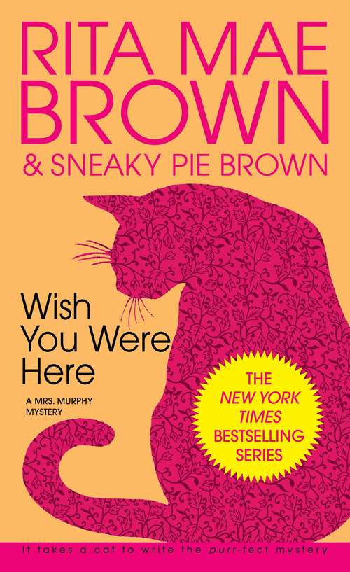 Collection sample book cover Wish You Were Here by Rita Mae Brown