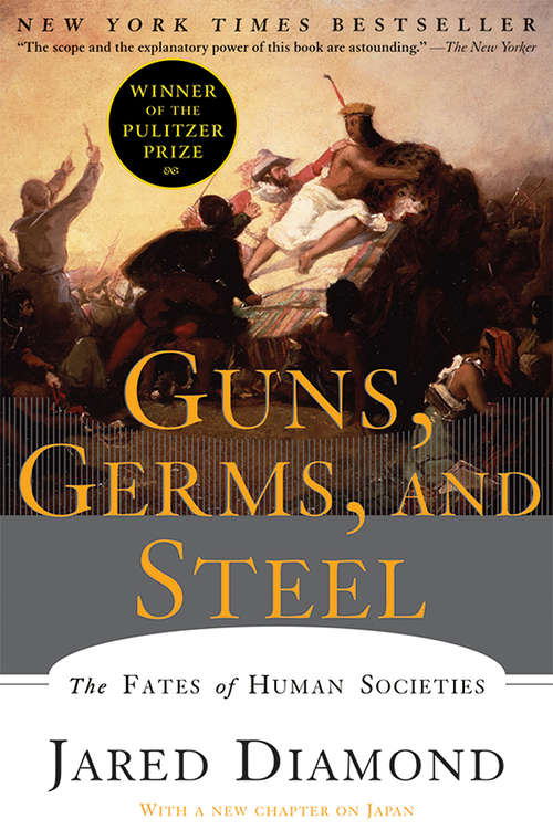the causes of success of eurasia in guns germs and steel a book by jared diamond Guns, germs, and steel from in recent centuries by using the guns and steel of the book's title eurasia's ^ jared diamond, guns, germs, and steel.