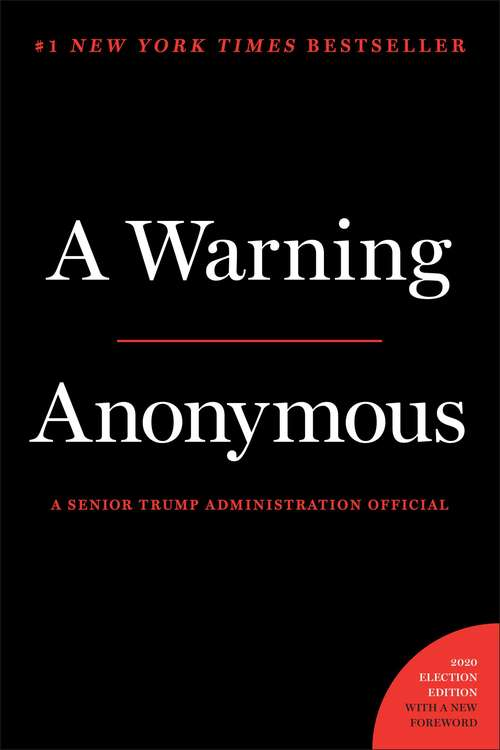 Collection sample book cover A Warning by Anonymous