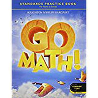 Go Math Grade 4 Standards Practice Book For Home Or School