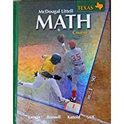 Math Course 3 (Texas Edition)