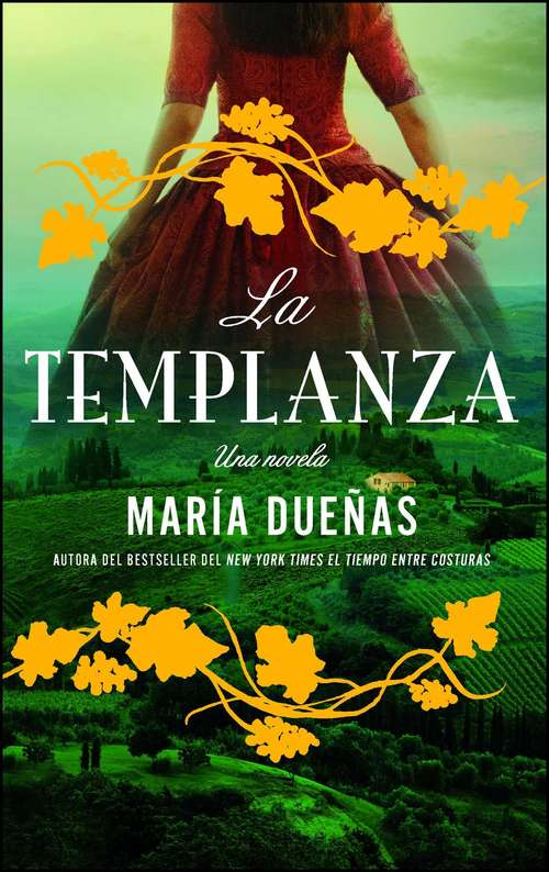 Collection sample book cover La Templanza: Una Novela por Maria Duenas