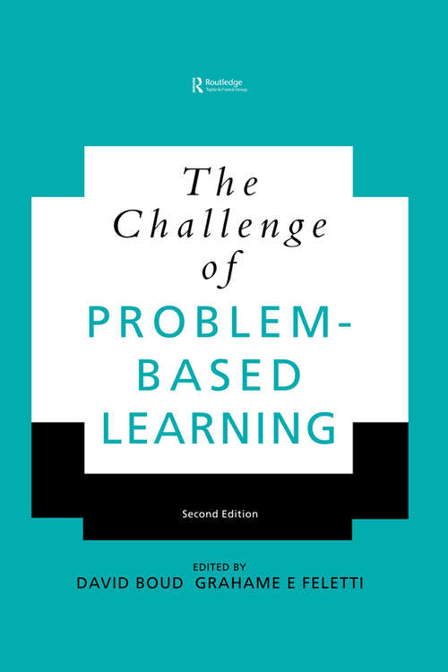 The Challenge of Problem-based Learning